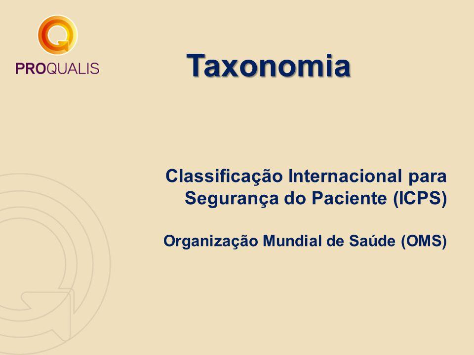 Taxonomia Classificação Internacional para