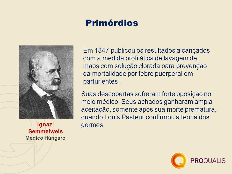 Primórdios Em 1847 publicou os resultados alcançados