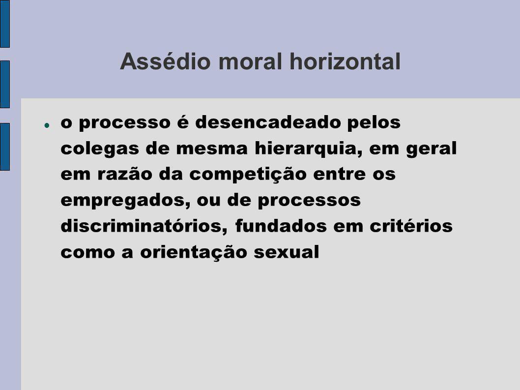 Assédio moral horizontal
