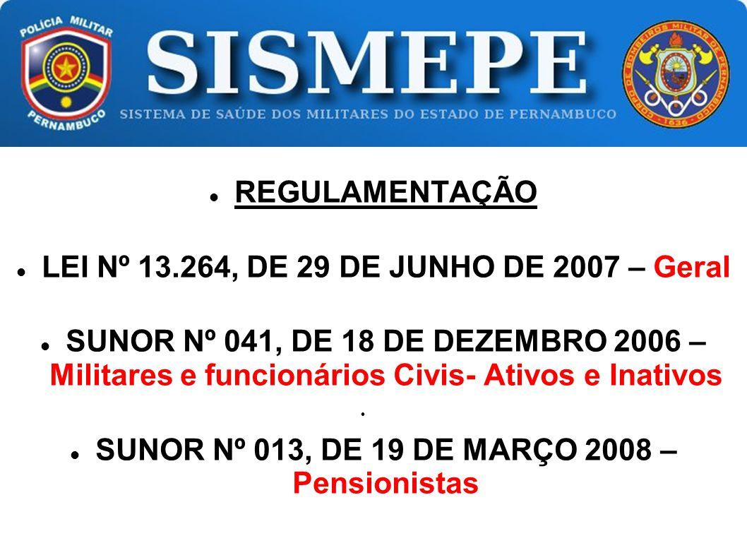 LEI Nº 13.264, DE 29 DE JUNHO DE 2007 – Geral