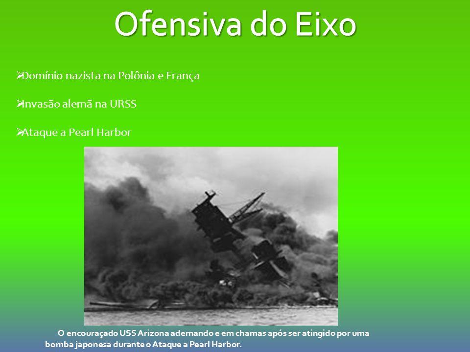 Ofensiva do Eixo Domínio nazista na Polônia e França
