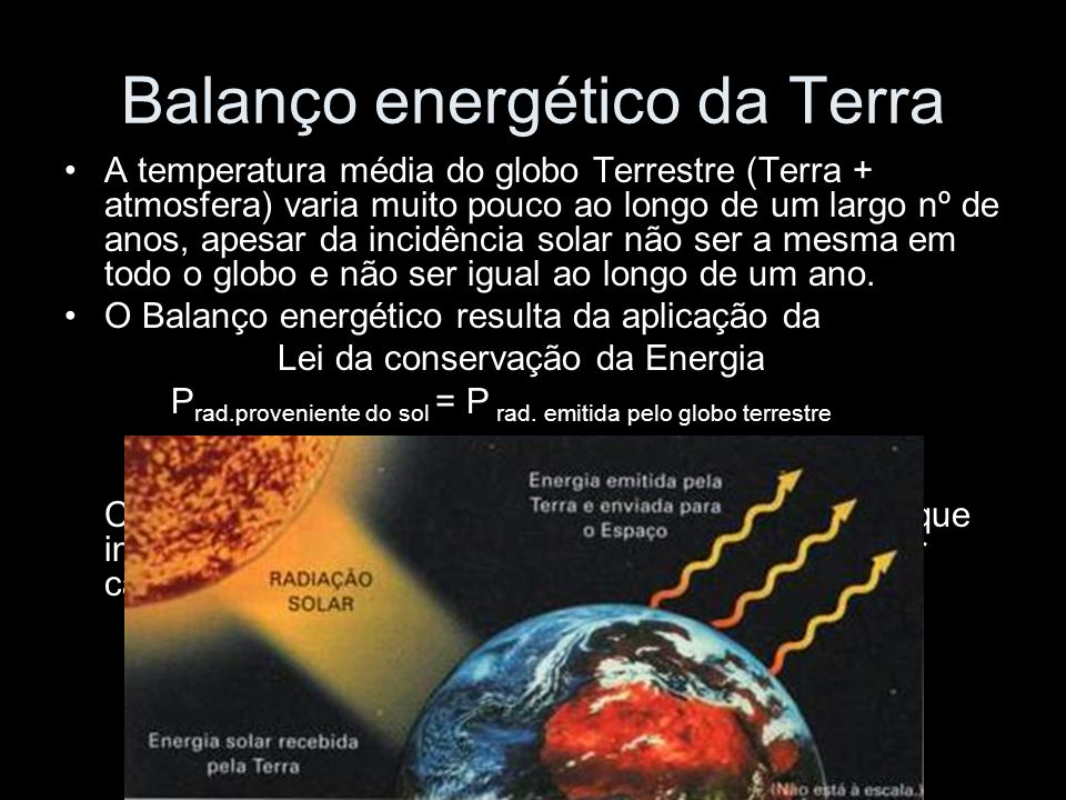 Balanço energético da Terra