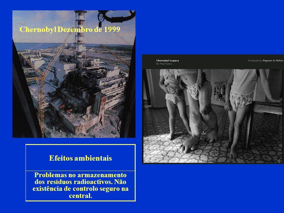 Chernobyl Dezembro de 1999 Efeitos ambientais