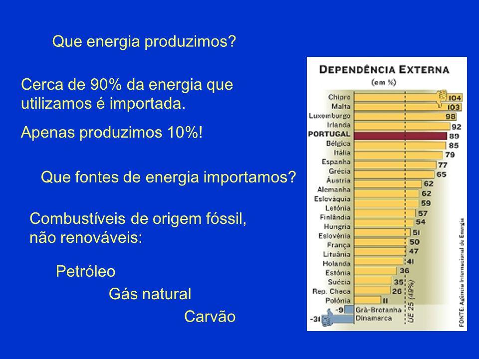 Que energia produzimos