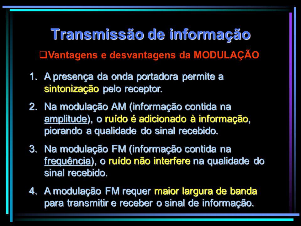 Transmissão de informação