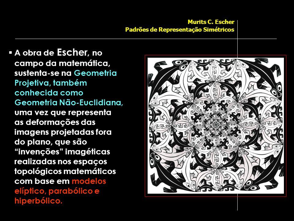 Murits C. Escher Padrões de Representação Simétricos