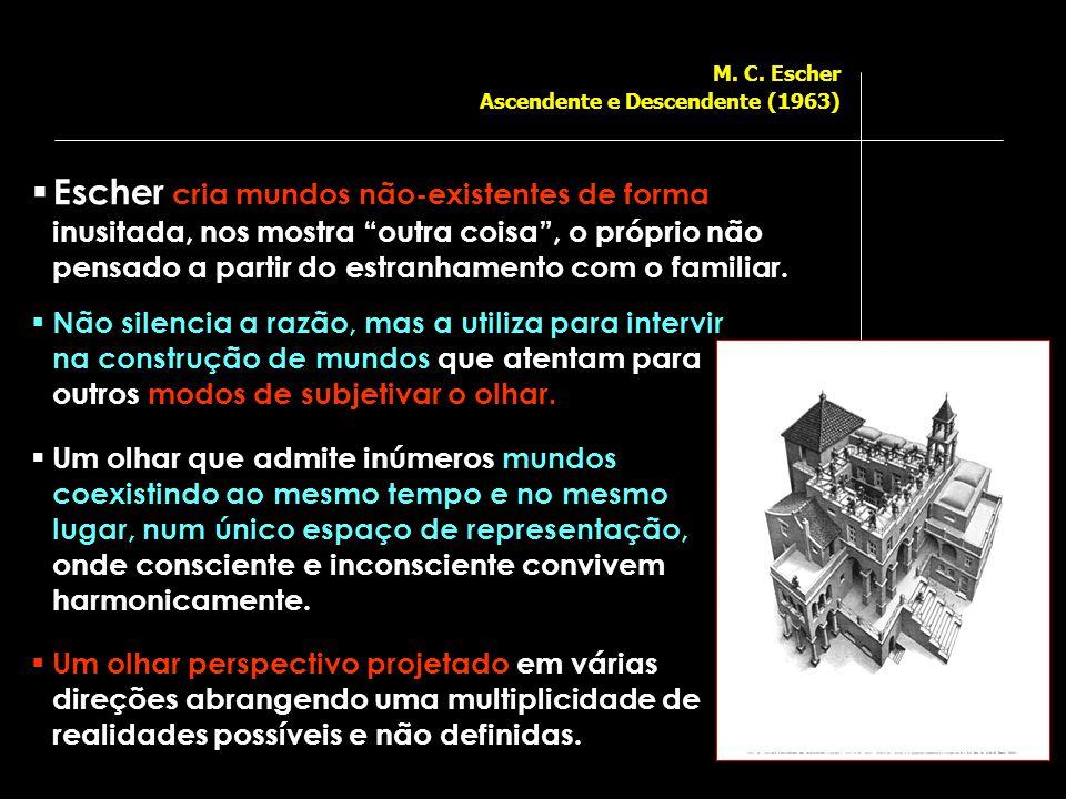M. C. Escher Ascendente e Descendente (1963)