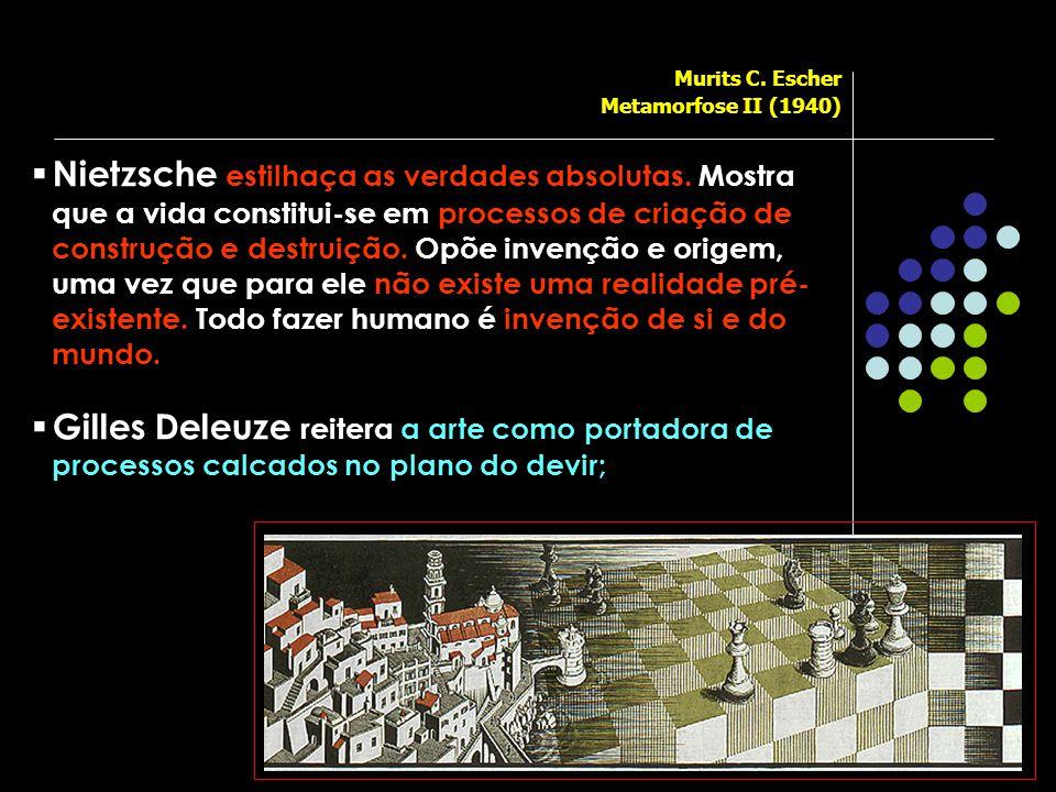 Murits C. Escher Metamorfose II (1940)