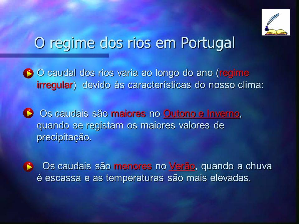 O regime dos rios em Portugal