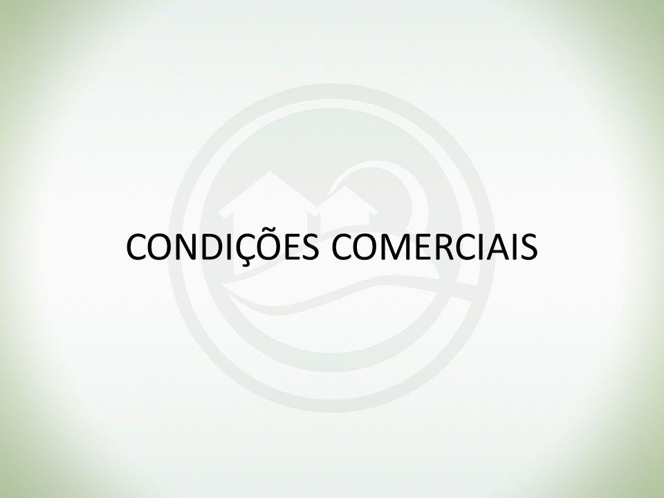 CONDIÇÕES COMERCIAIS