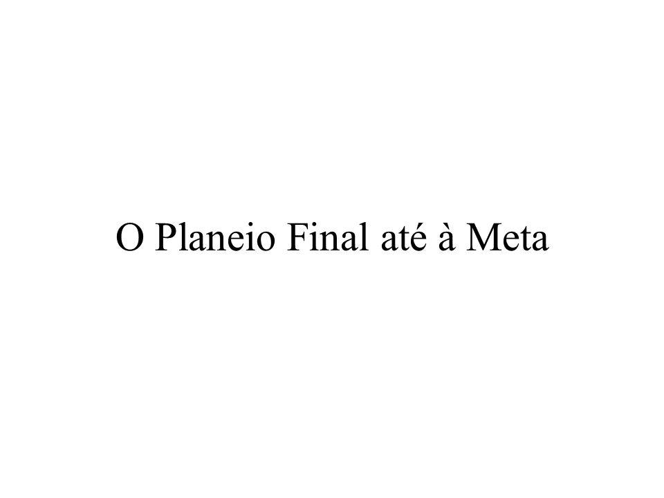 O Planeio Final até à Meta