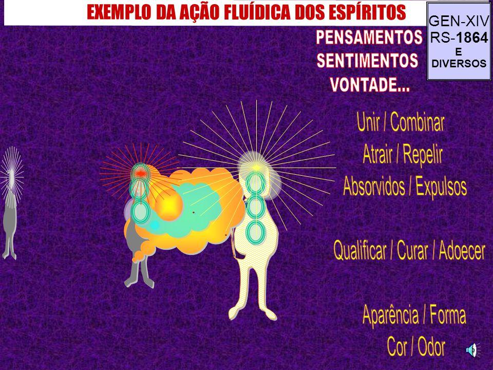 EXEMPLO DA AÇÃO FLUÍDICA DOS ESPÍRITOS