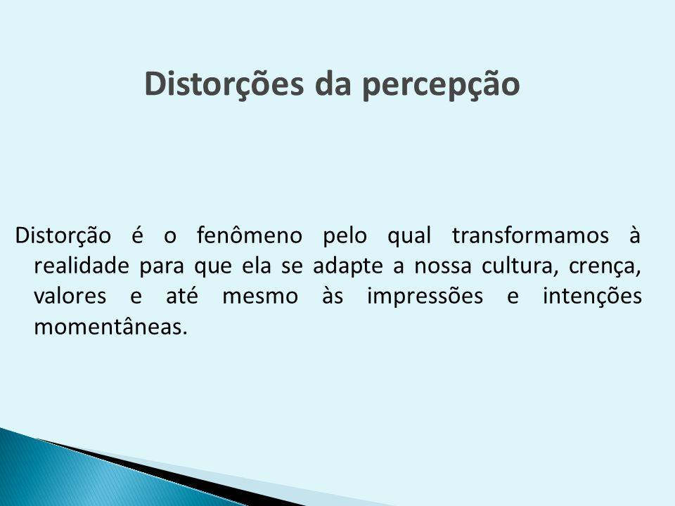 Distorções da percepção