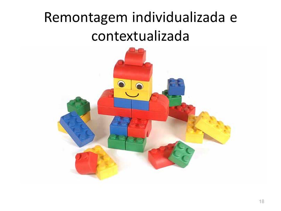 Remontagem individualizada e contextualizada