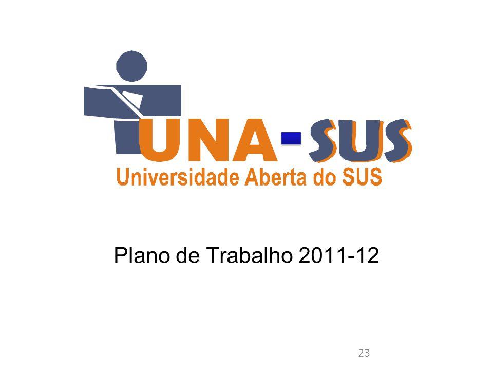 Plano de Trabalho 2011-12