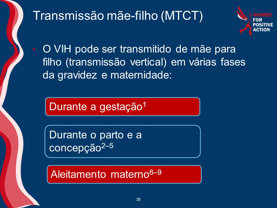 Transmissão mãe-filho (MTCT)