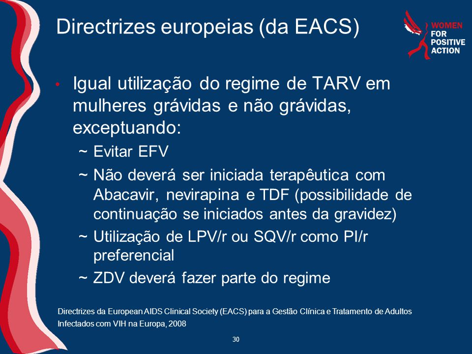 Directrizes europeias (da EACS)