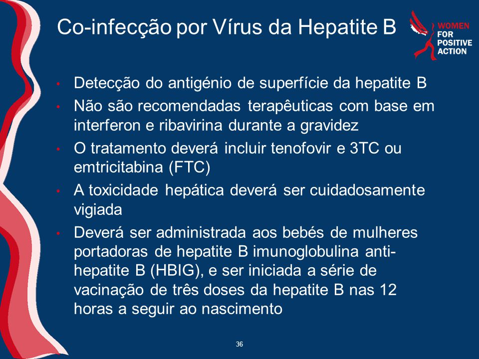 Co-infecção por Vírus da Hepatite B