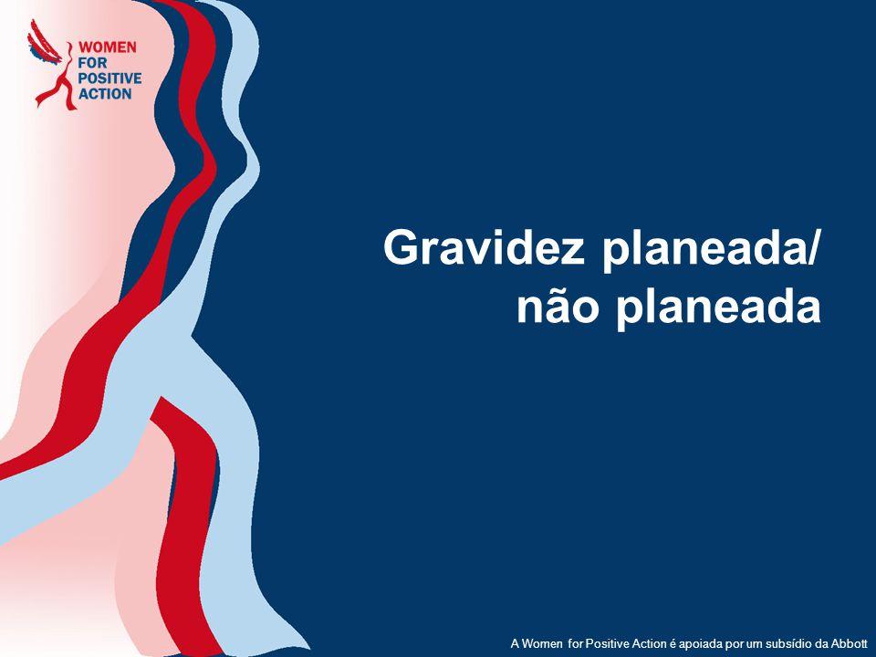 Gravidez planeada/ não planeada