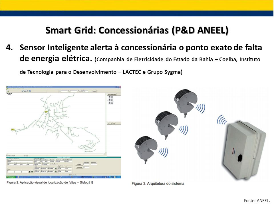 Smart Grid: Concessionárias (P&D ANEEL)