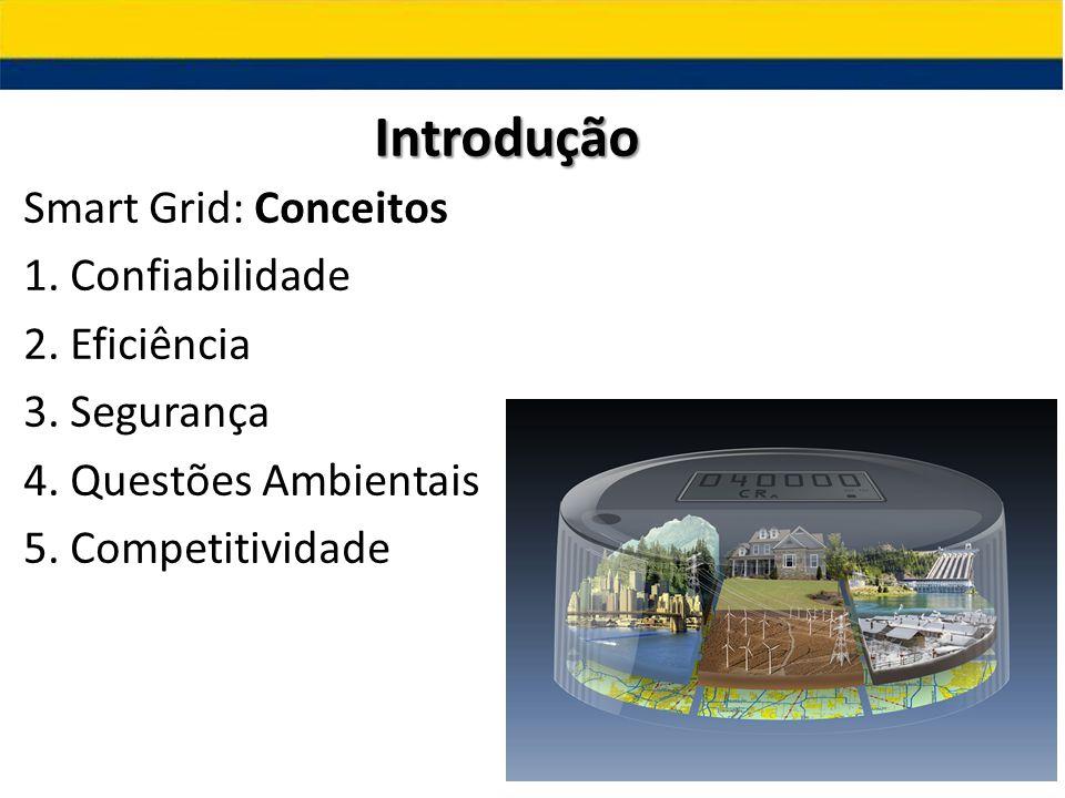 Introdução Smart Grid: Conceitos 1. Confiabilidade 2.