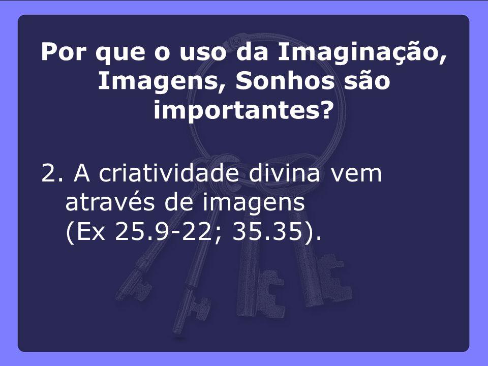 Por que o uso da Imaginação, Imagens, Sonhos são importantes