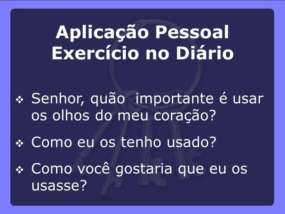 Aplicação Pessoal Exercício no Diário