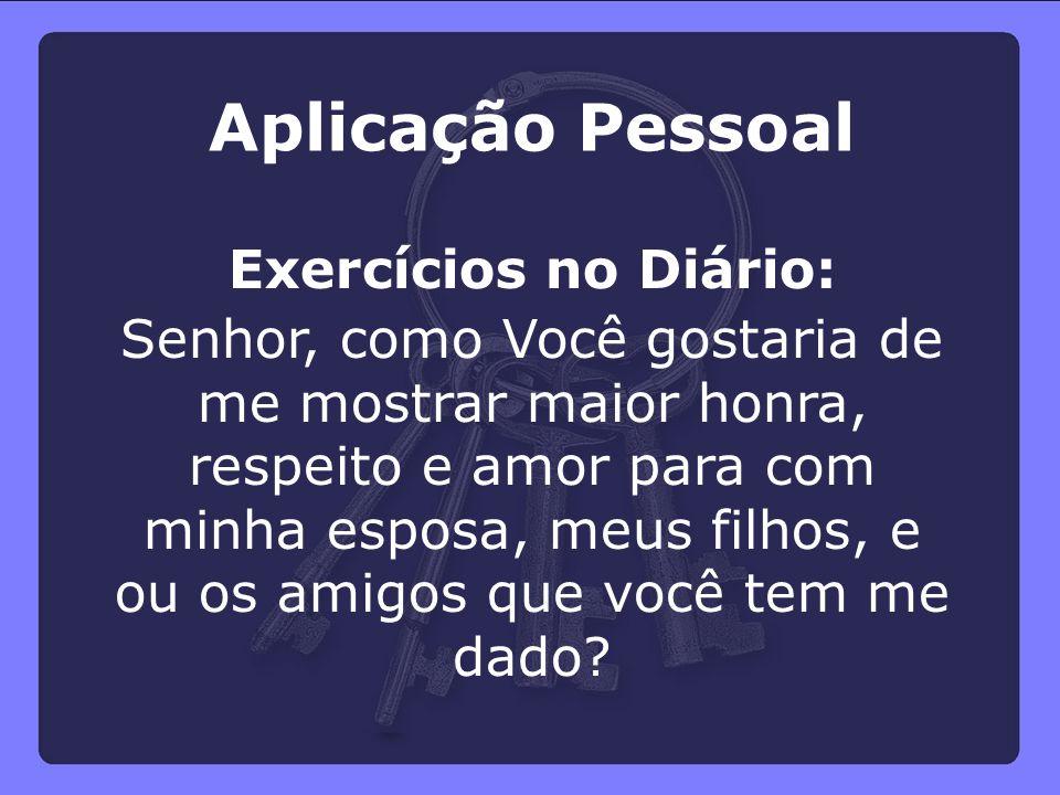 Aplicação Pessoal Exercícios no Diário: