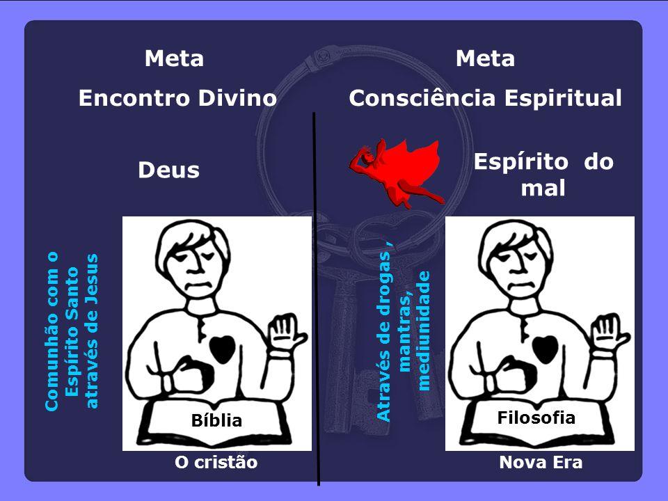 Meta Encontro Divino Meta Consciência Espiritual Espírito do mal Deus