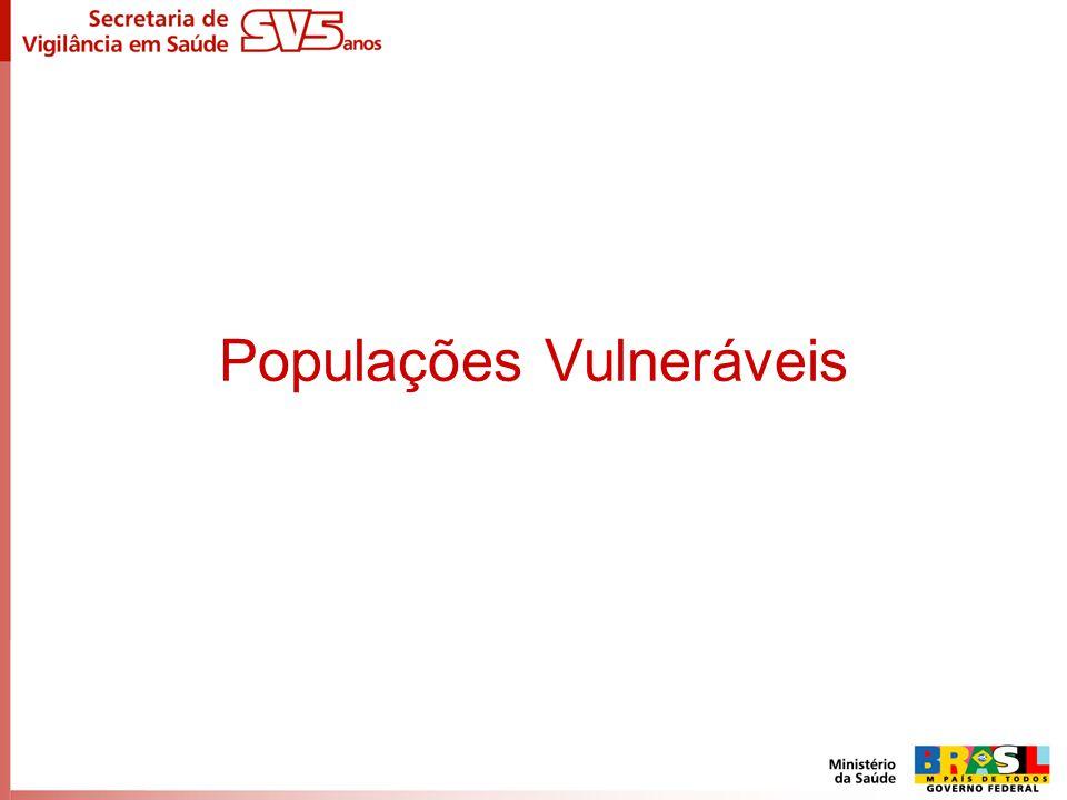 Populações Vulneráveis