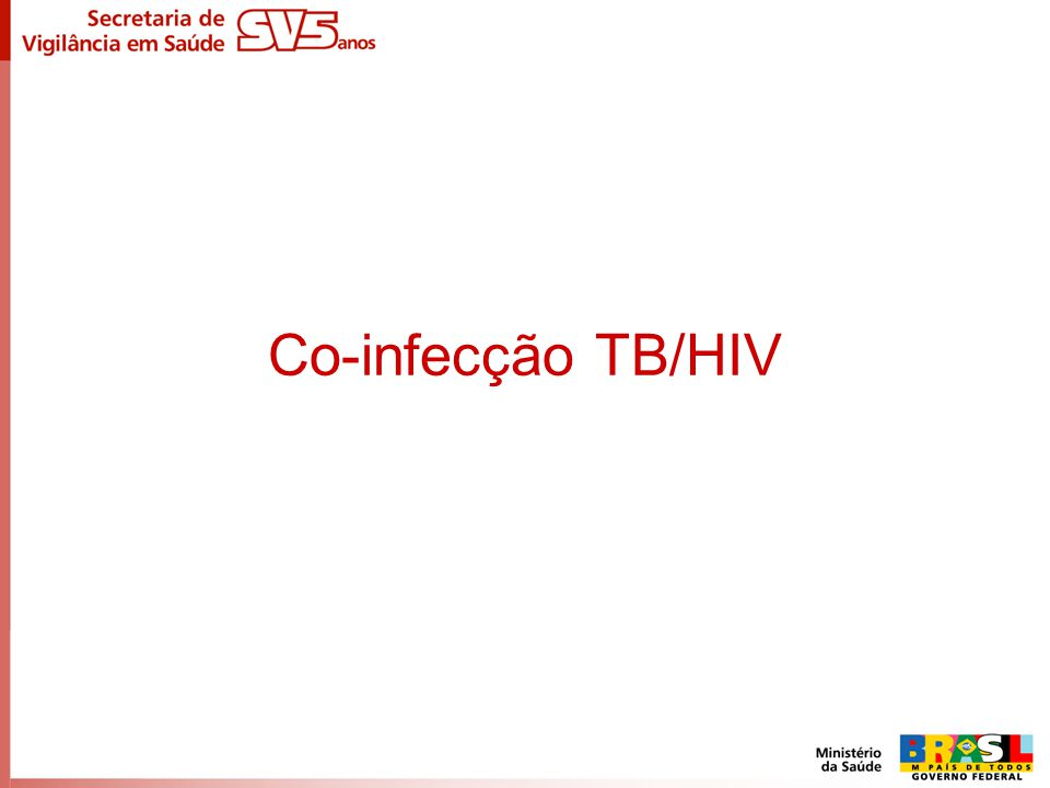 Co-infecção TB/HIV
