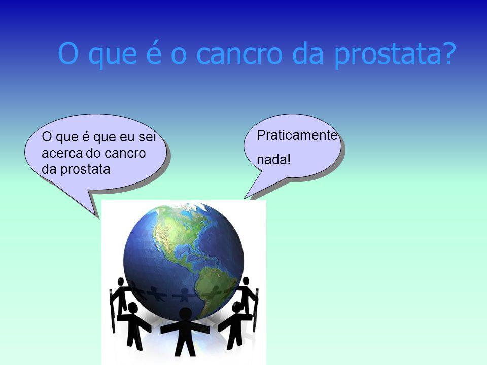 O que é o cancro da prostata