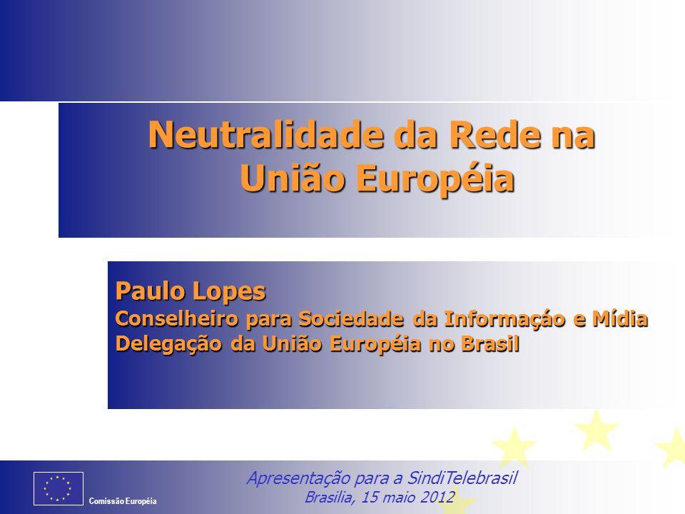Neutralidade da Rede na União Européia