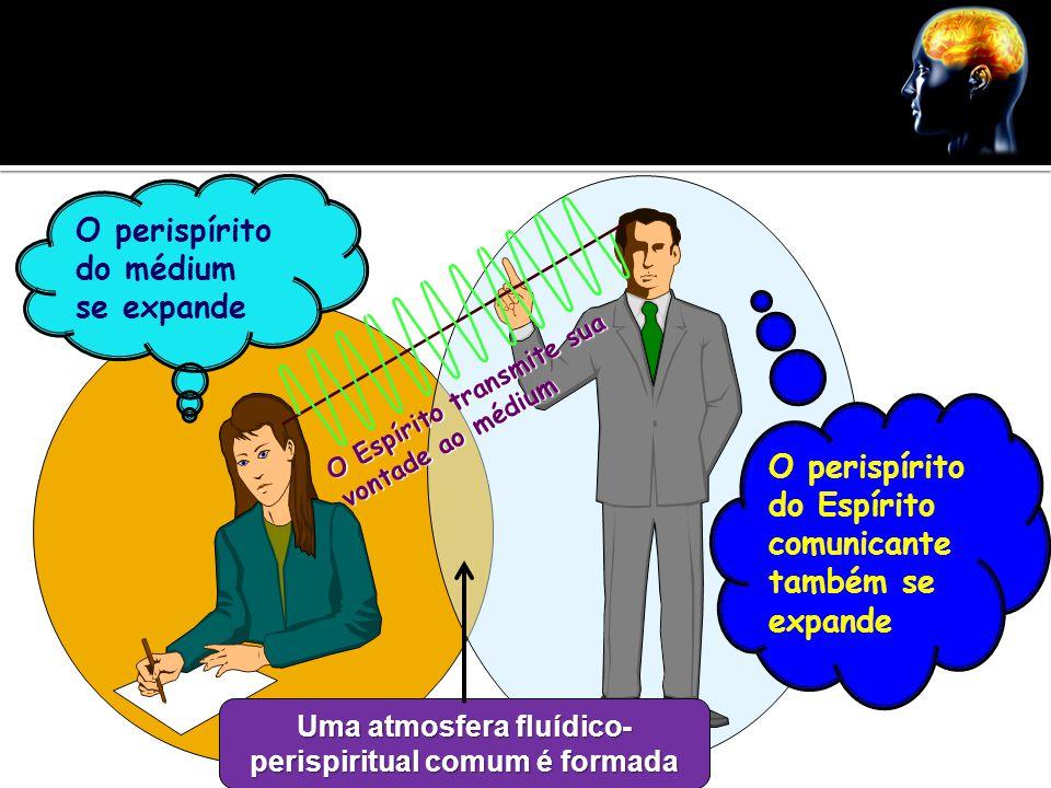 Uma atmosfera fluídico-perispiritual comum é formada