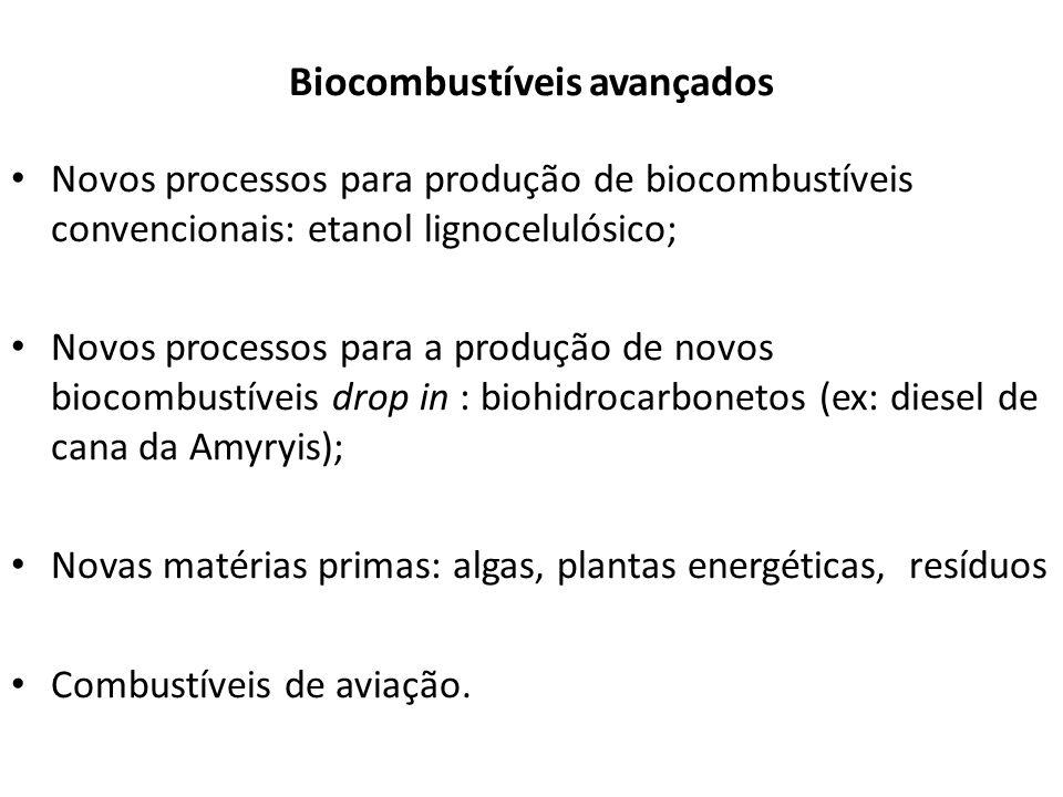 Biocombustíveis avançados