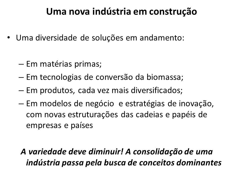 Uma nova indústria em construção