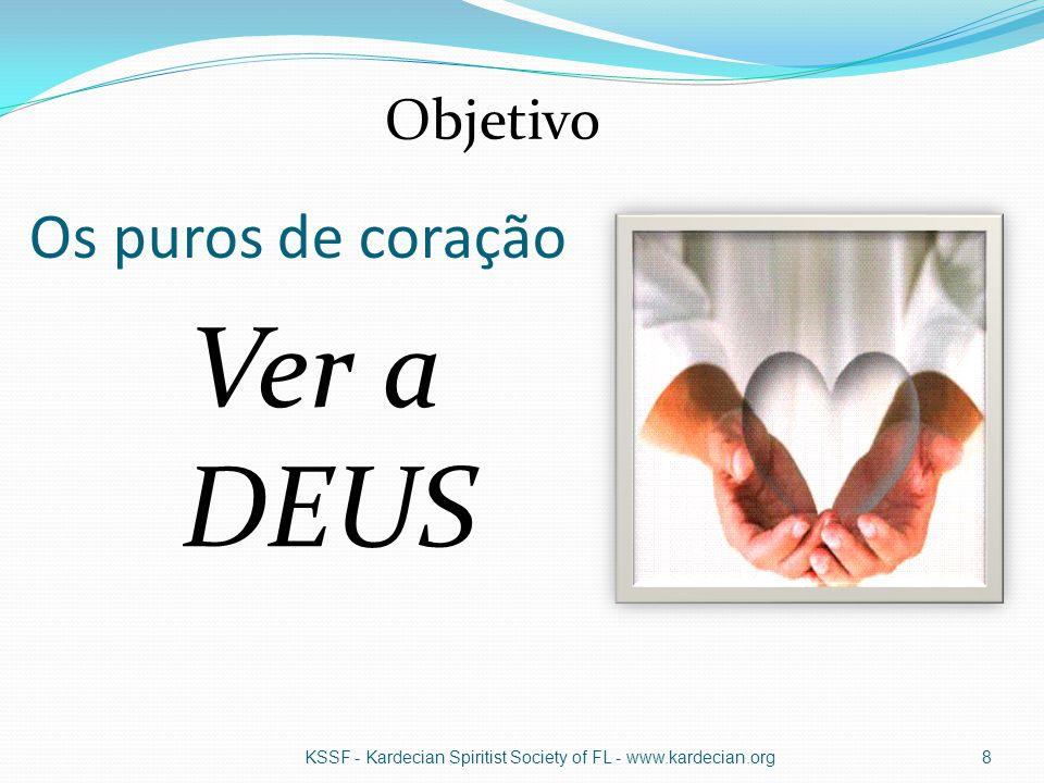 Ver a DEUS Os puros de coração Objetivo
