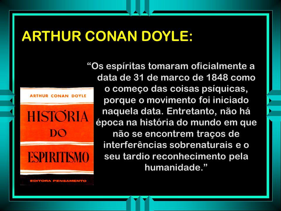 ARTHUR CONAN DOYLE: