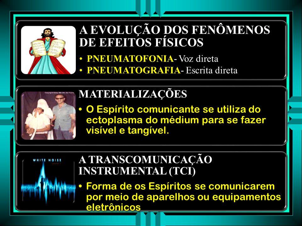 A TRANSCOMUNICAÇÃO INSTRUMENTAL (TCI)