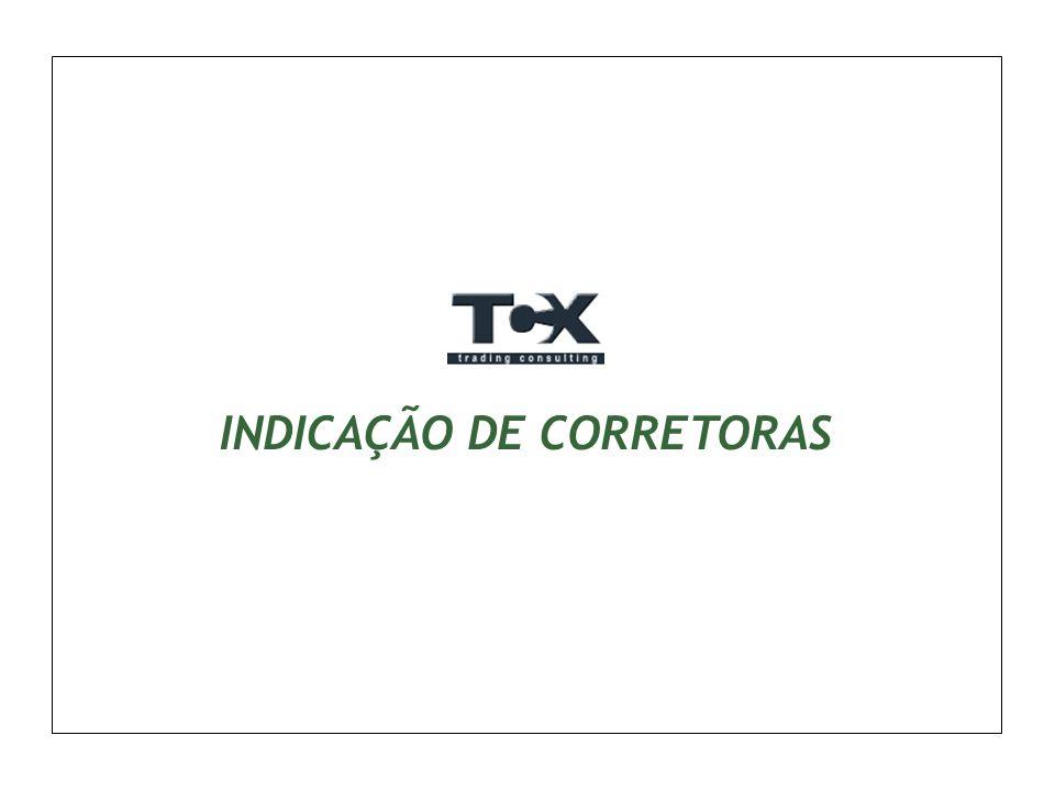 INDICAÇÃO DE CORRETORAS