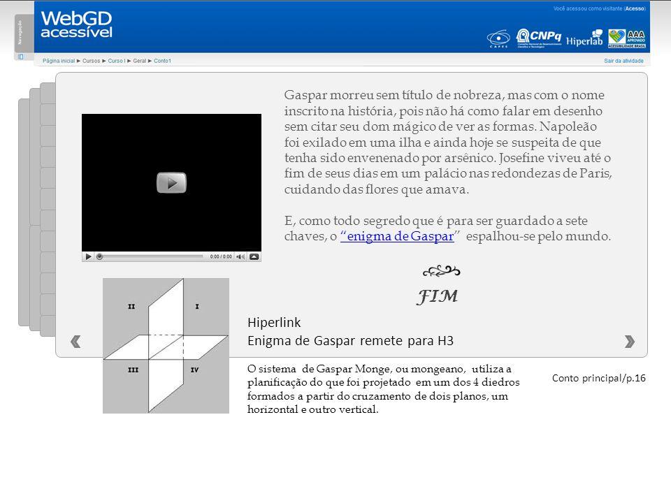 FIM Hiperlink Enigma de Gaspar remete para H3