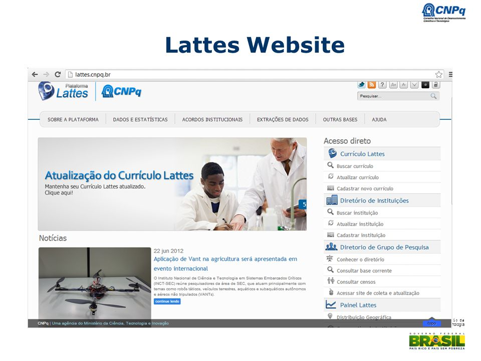 Lattes Website