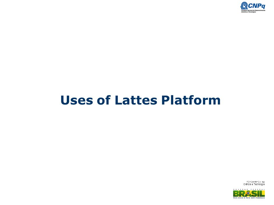 Uses of Lattes Platform