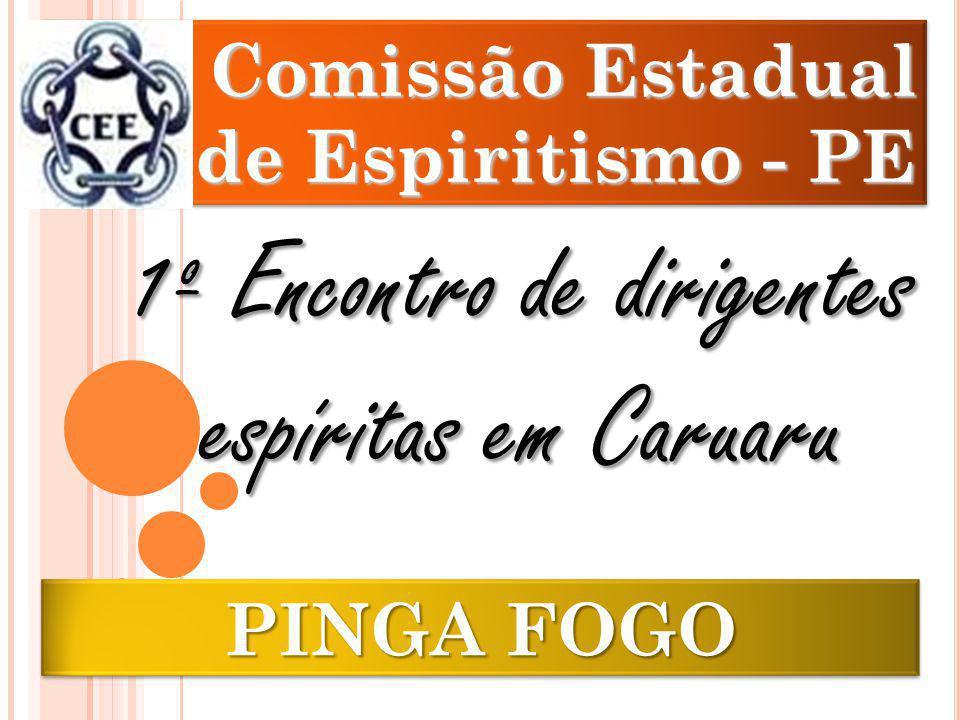 1º Encontro de dirigentes espíritas em Caruaru