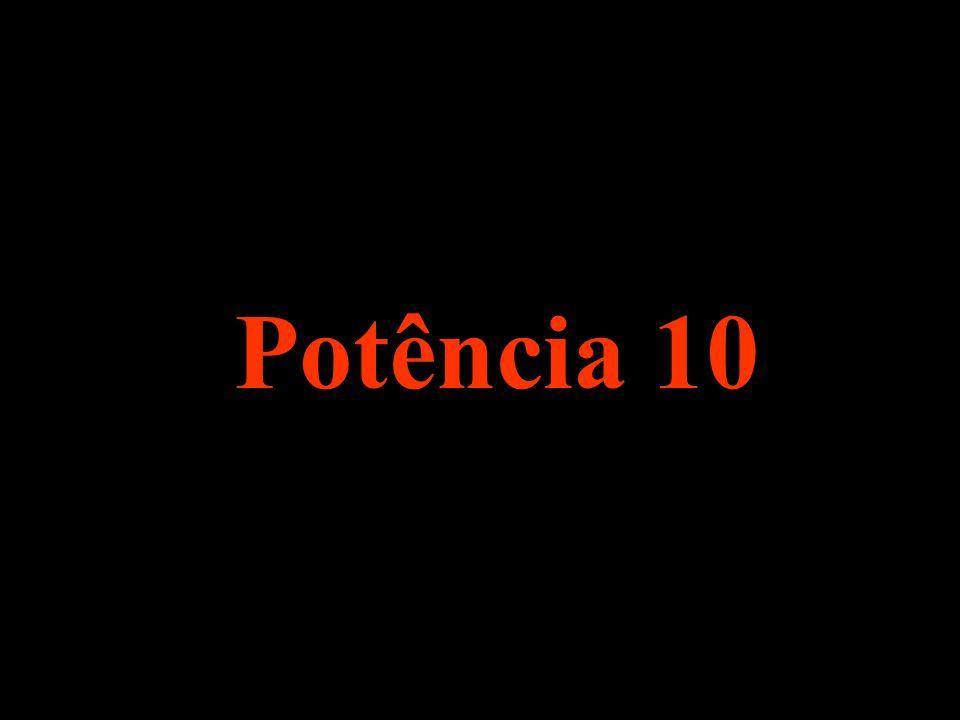 Potência 10 .