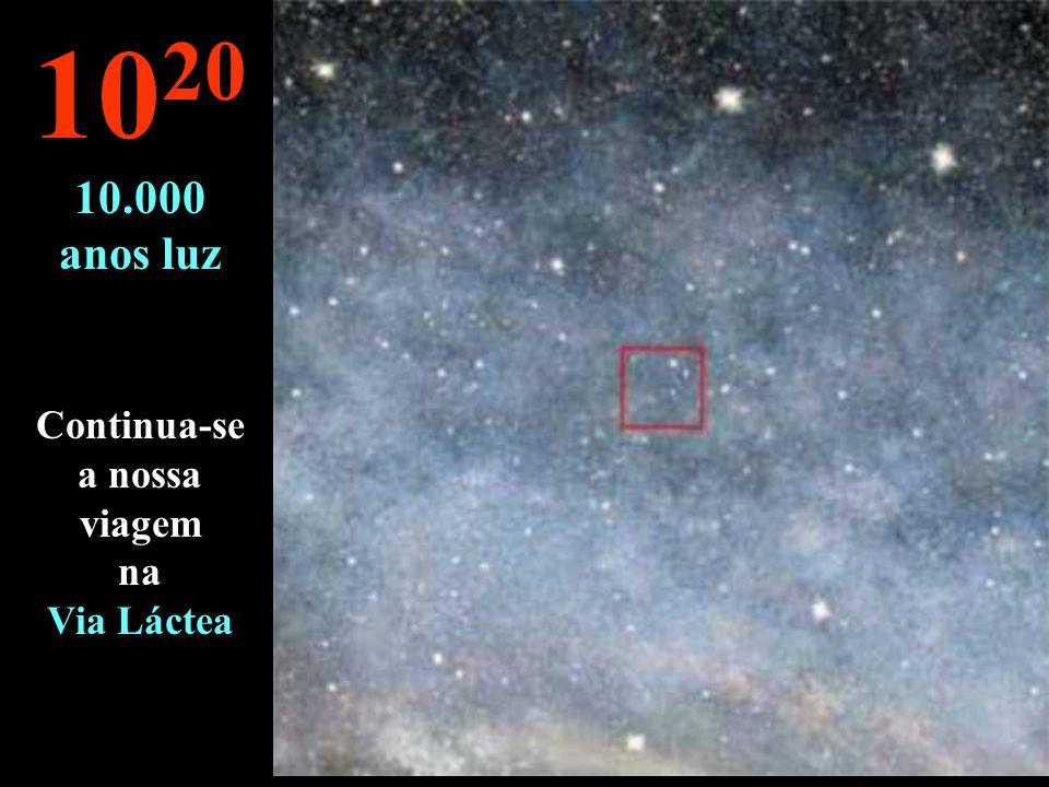 Continua-se a nossa viagem na Via Láctea