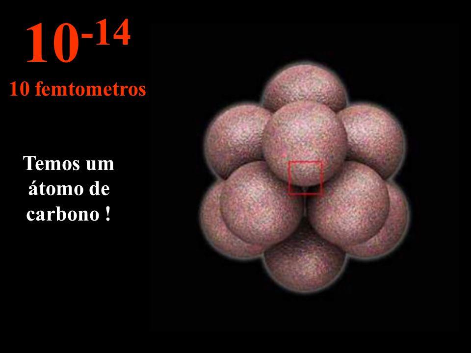 Temos um átomo de carbono !
