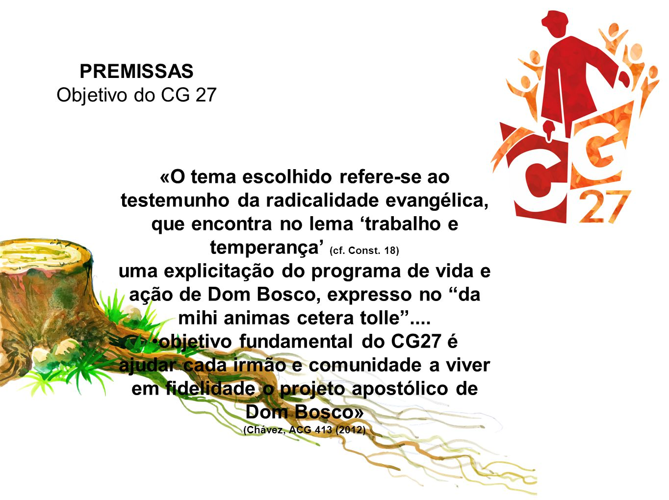 objetivo fundamental do CG27 é