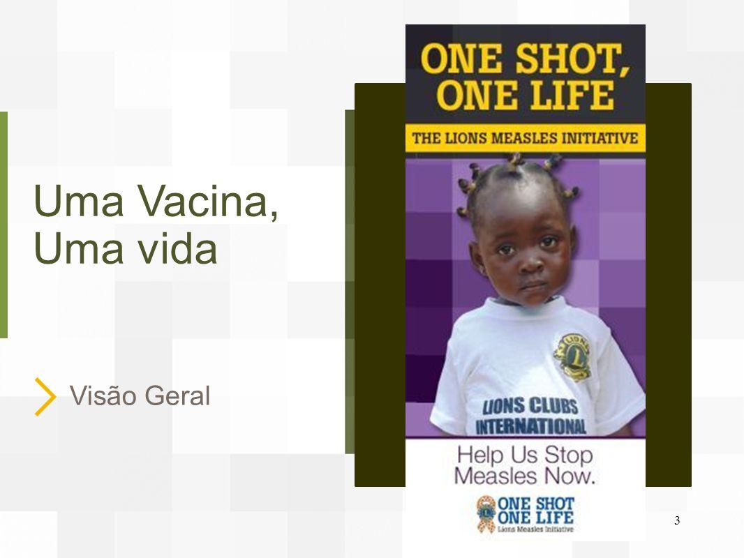 Uma Vacina, Uma vida Visão Geral