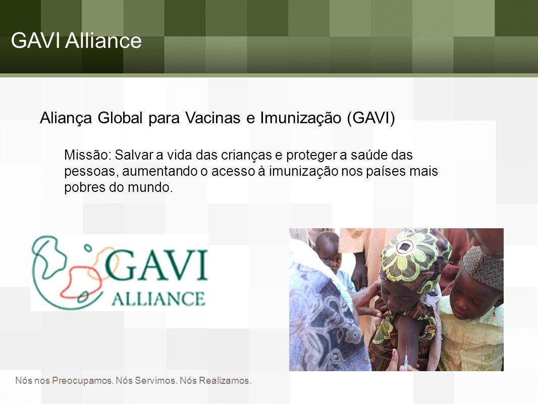 GAVI Alliance Aliança Global para Vacinas e Imunização (GAVI)